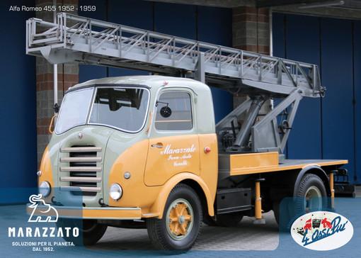 Camion storici, la 'Collezione Marazzato' presenta l'Alfa Romeo 455