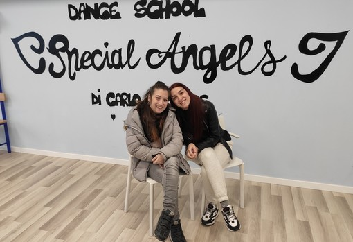 Virginia e Martina Di Carlo e la Special Angels Dance School