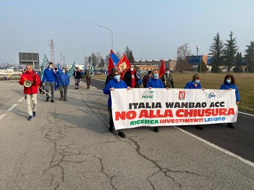 Manifestazione di operai