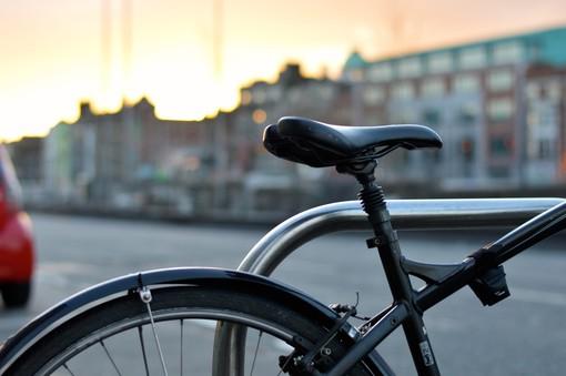 profilo di una bicicletta
