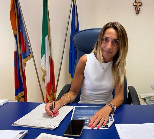 L'assessora regionale all'Istruzione Elena Chiorino