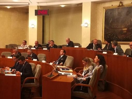 Consiglio regionale con giunta Cirio