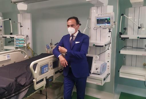Cirio all'ospedale Mauriziano