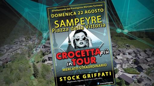 Sampeyre (Cuneo): domenica 22 agosto la moda torna in piazza con Crocetta Più!