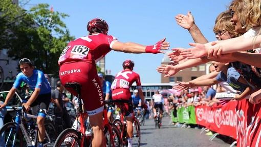 Ciclisti al Giro d'Italia 2018