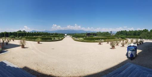 La Reggia di Venaria con i suoi giardini