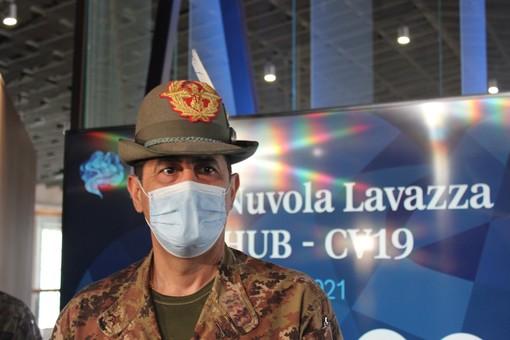 Il generale Figliuolo a Torino (foto di archivio)