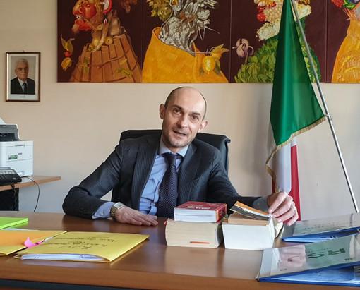 Il preside del liceo scientifico Juvarra, Luciano Mario Rignanese