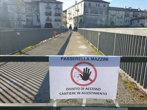 La passerella Mazzini di Venaria
