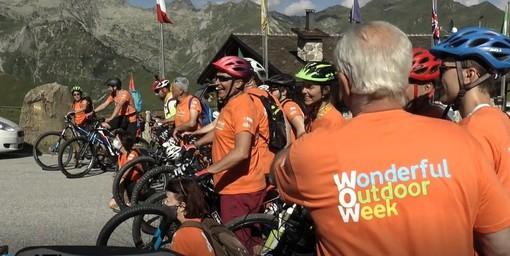 Limone Piemonte: una pedalata per promuovere l'Alta Via del Sale (VIDEO)